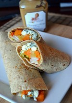 Champagne Honey Roasted Apples and Squash Wraps