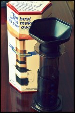 Aerobie® AeroPress® Coffee and Espresso Maker Review and Giveaway