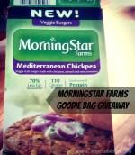 MorningStar Farms Mediterranean Chickpea Burgers + Giveaway