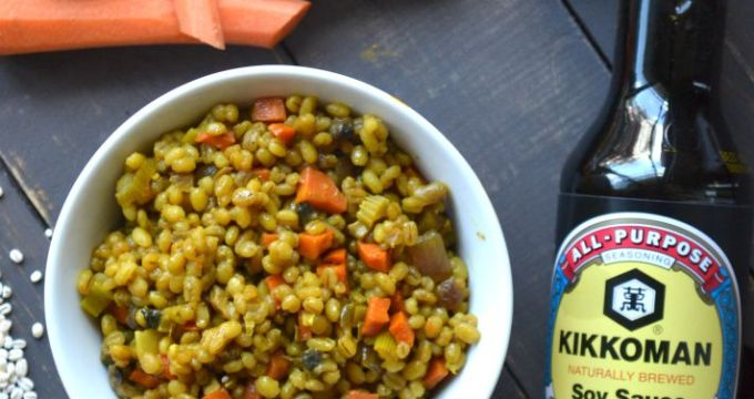 Quick and Savory Barley Pilaf - hero 1