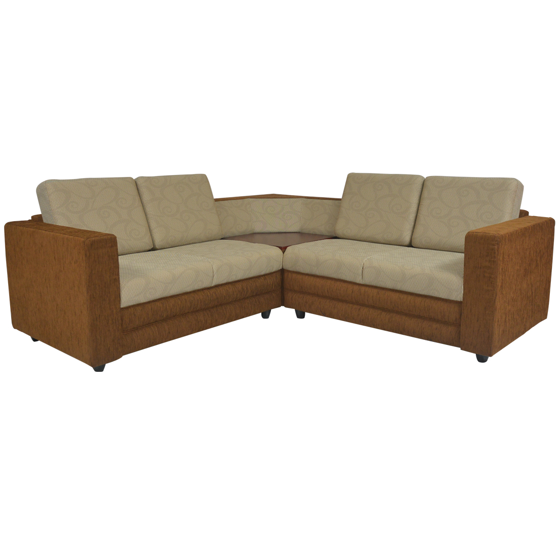 Buy Legend Sectional Sofa Dark Brown Base And Light Brown Cushion Online In Sri Lanka Singer