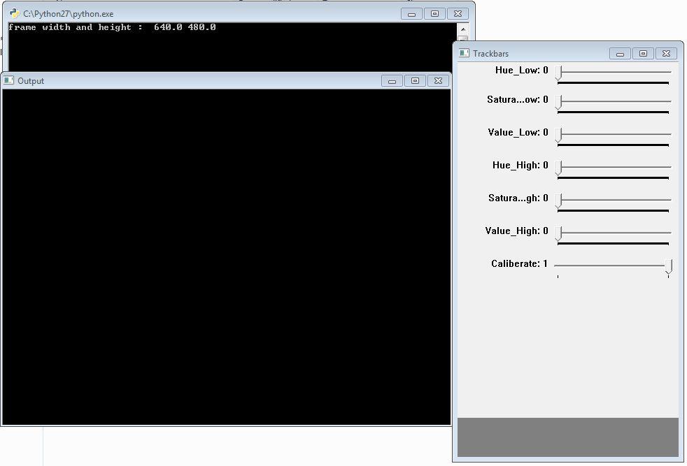 commande simple open cv python