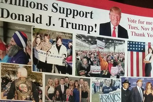 Trump campaign portrays Sikh as Muslim supporter in handbills