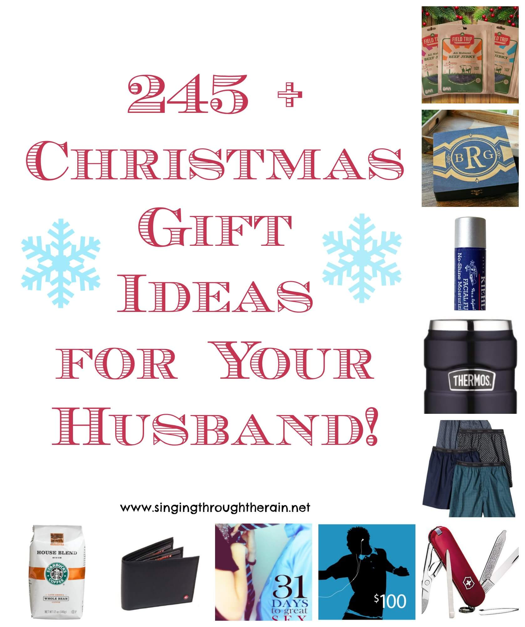 Christmas gift ideas for your husband