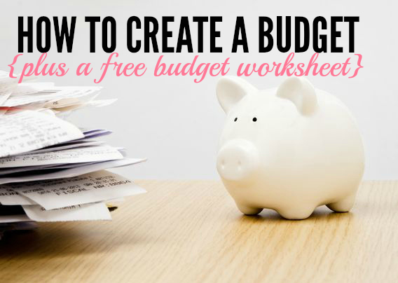 How to Create a Budget (Plus Free Budget Worksheet) - Single Moms Income - creating a budget