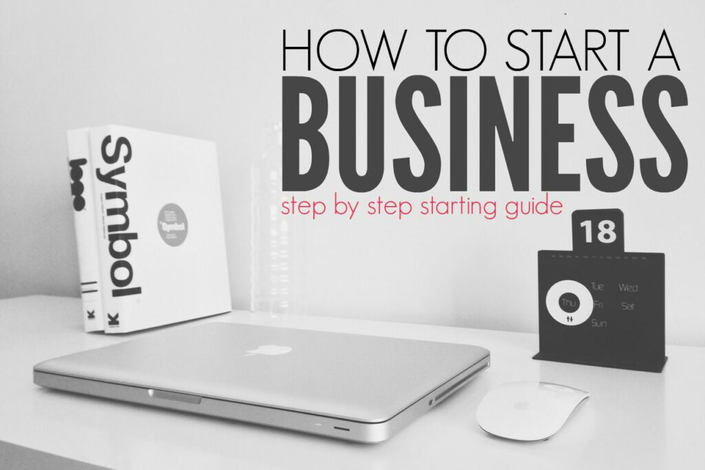 Start A Startup Company How To Start A Business Step By Step Guide Single Moms