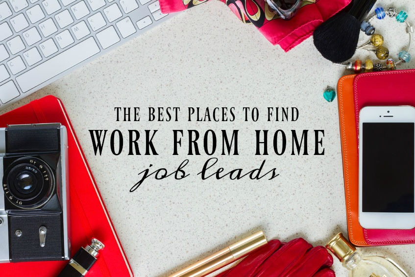 The Best Sources to Find Work From Home Job Leads - Single Moms Income - how to get job leads