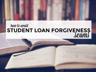 How to Avoid Student Loan Forgiveness Scams - Single Moms Income