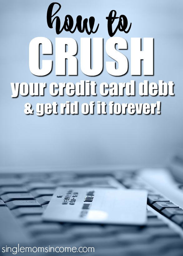 How to Pay Off Credit Card Debt - Single Moms Income - how to pay off credit card