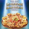 cheese burger pizza hut