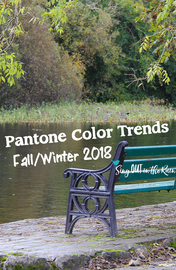 Color Trends Fall 2018 Fall Winter Pantone Color Trends Just Released Use These Amazing