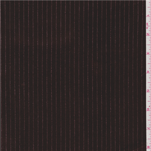 Metallic Animal Print Wallpaper Chocolate Brown Stripe Stretch Velvet 23032 Discount Fabrics