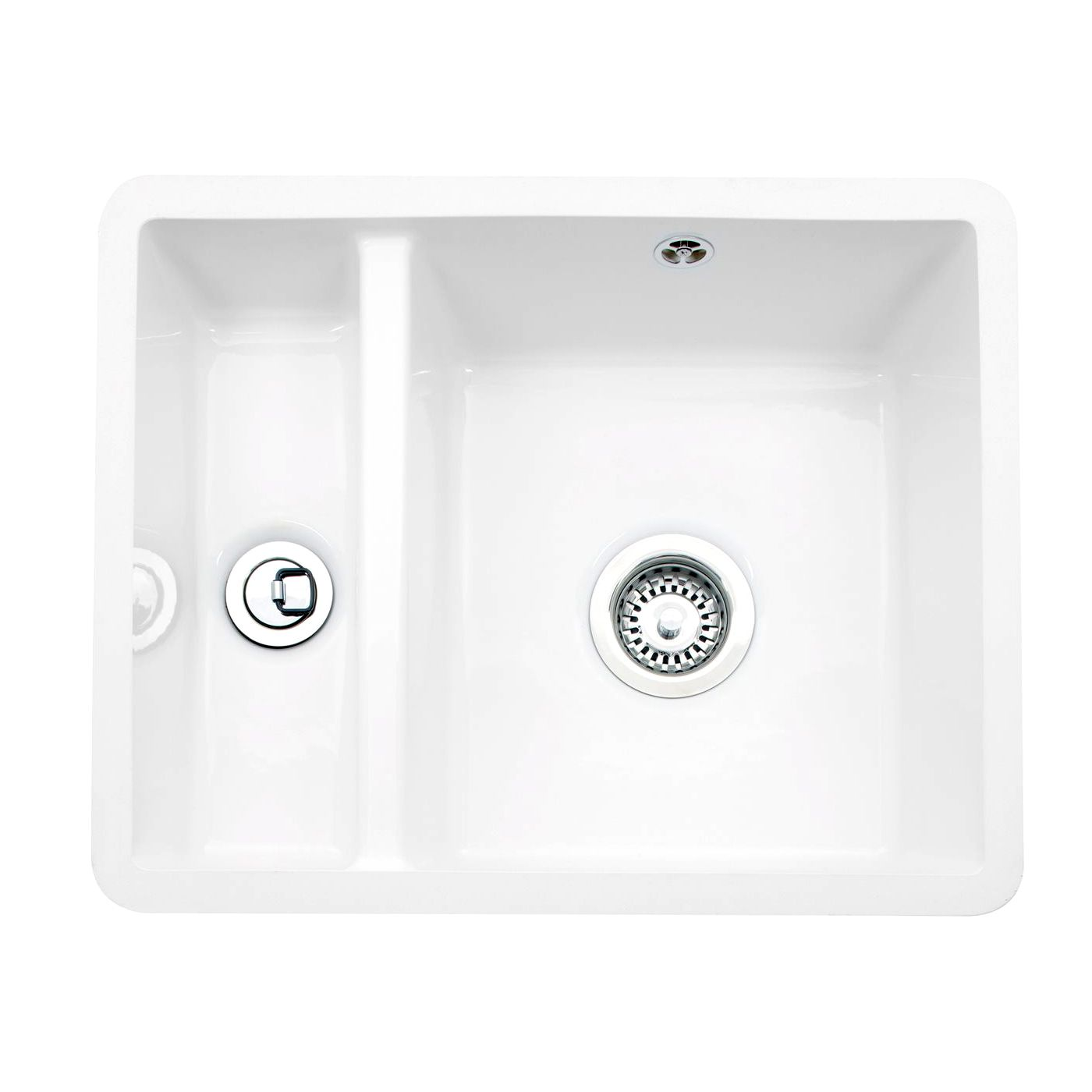 Ceramic Kitchen Sink Caple Friska 1 5 Bowl Undermount Ceramic Sink Sinks Taps