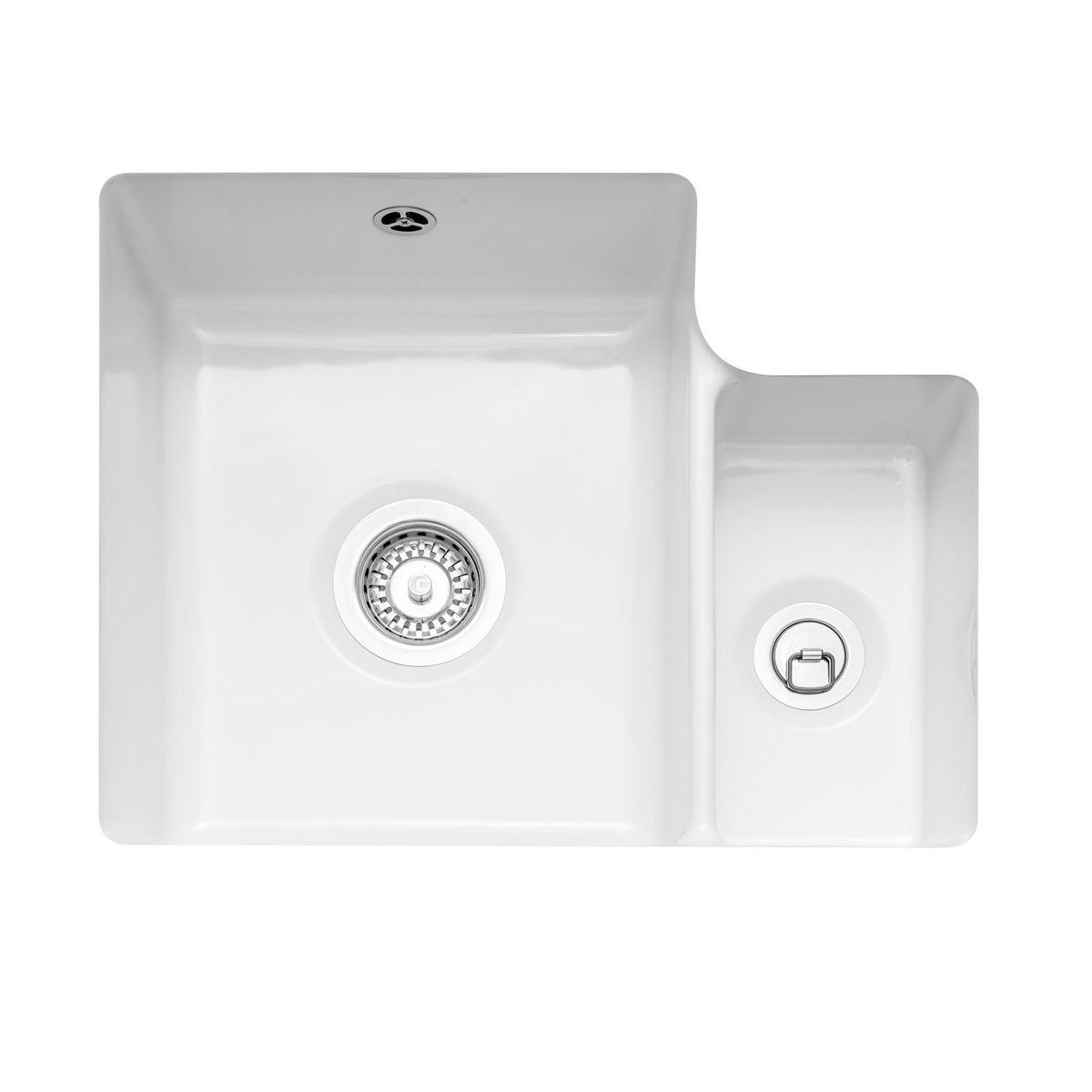 Kitchen Taps Price Caple Ettra 150 Ceramic Undermount Kitchen Sink - Sinks
