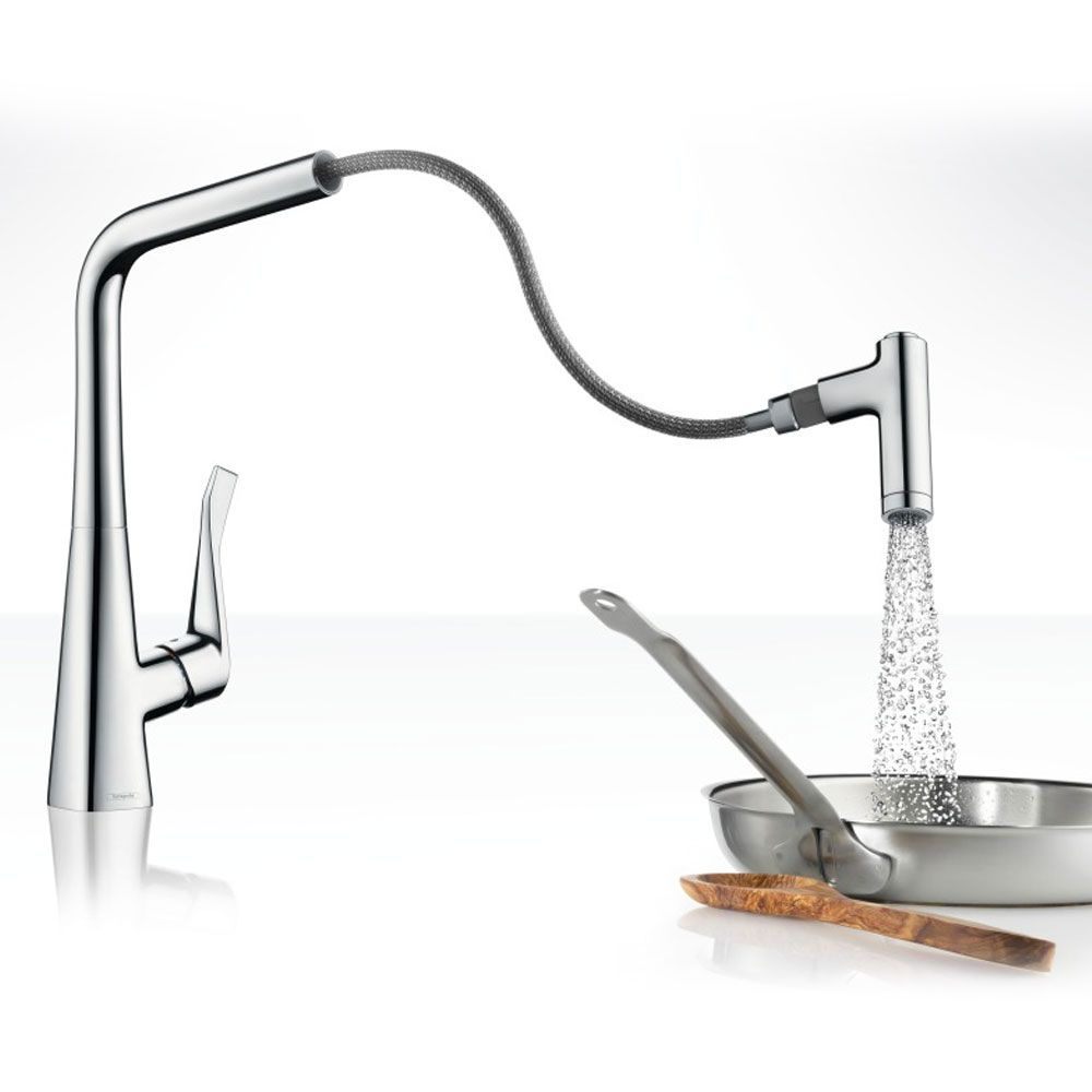 Hansgrohe Metris Select 320 Kitchen Tap Sinks Taps Com - Hansgrohe Metris