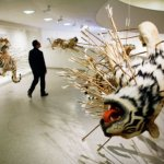 Piercing the Paper Tiger -- Cai Guo Qiang at Musee d'Art Contemporain de Lyon, 2008