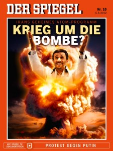 Spiegel on Iran and bomb