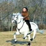 Kim Yeo-jong, Kim Jong-un's younger sister displays her horse-riding skills.