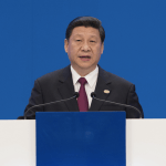 Xi Jinping, the Secretary of the Chinese Communist Party, at the Boao Forum for Asia, in Hainan Province | Via Huanqiu