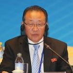 Kim Kye-gwan in Beijing on September 18, singularly failing to impress the Chinese | Image: CRI Online