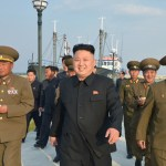 Kim Jong Un visits January 8th Fishing Station