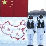 Chinese Border Guards in Winter, via Jiefang Ribao / Liberation Daily, Beijing, December 2014.