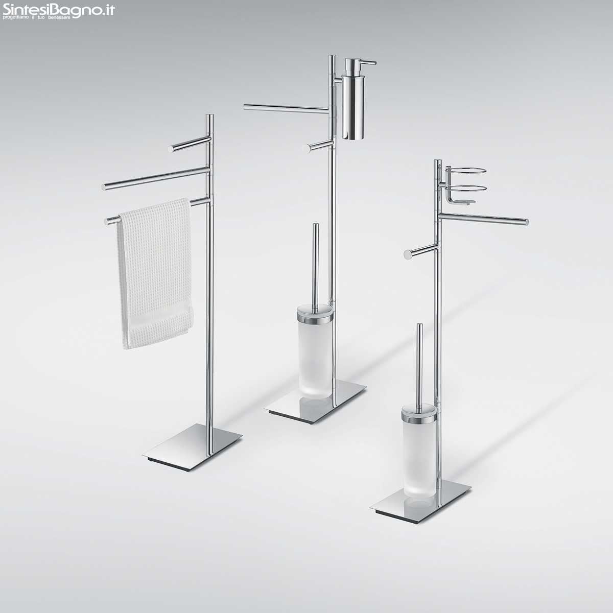 Shop Bagno Accessori Bagno Piantane Colombo Design Serie Square Shop