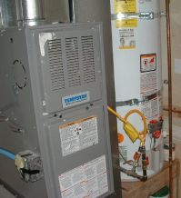furnace and hot water heater - Sinton Air
