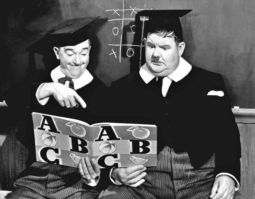 Laurel and Hardy, A Chump at Oxford, 1940 - MUSEUMVIEWS - 1