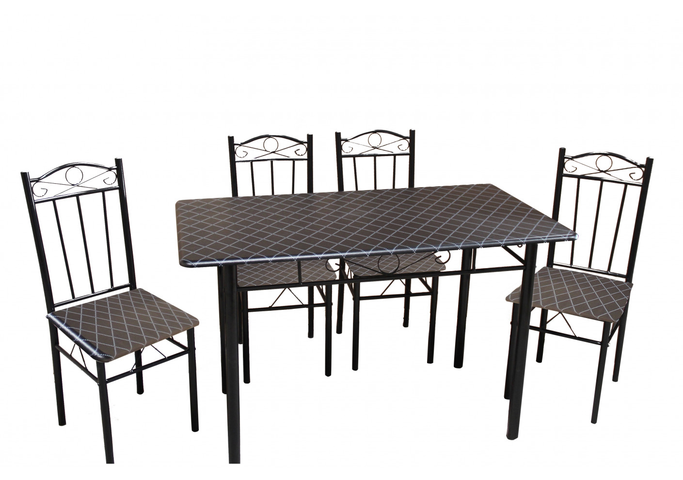 Ensemble Chaise Ensemble Table Chaise Cuisine Ensemble Table 4 Chaises