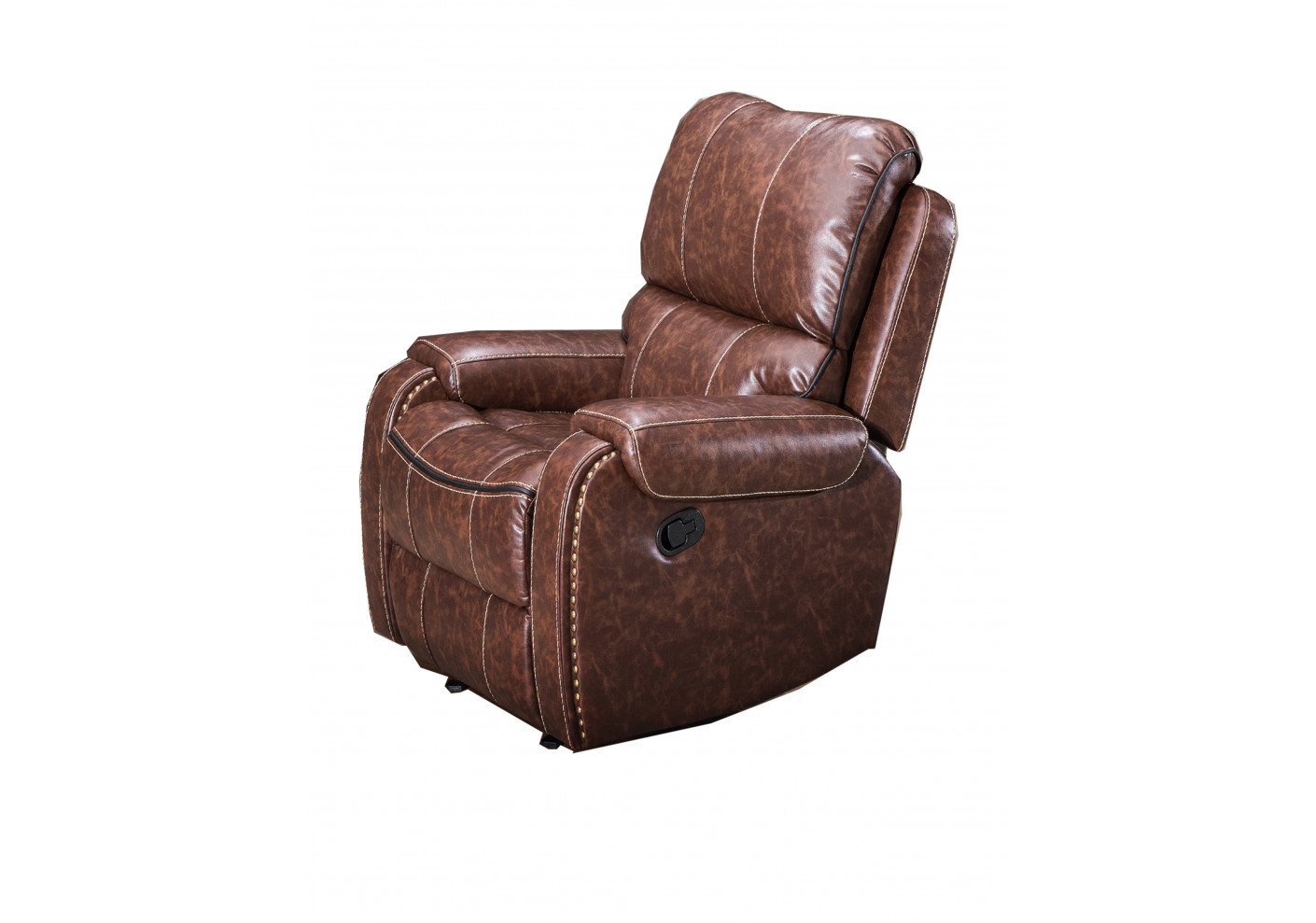 Fauteuils Relax Simili Cuir Fauteuil Relax Cocoon Simili Cuir Marron