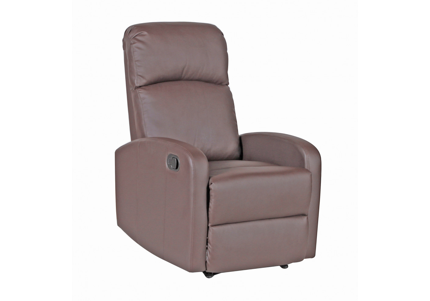 Canapes Et Fauteuils Relax Fauteuil Relaxation Oslo Marron Clair