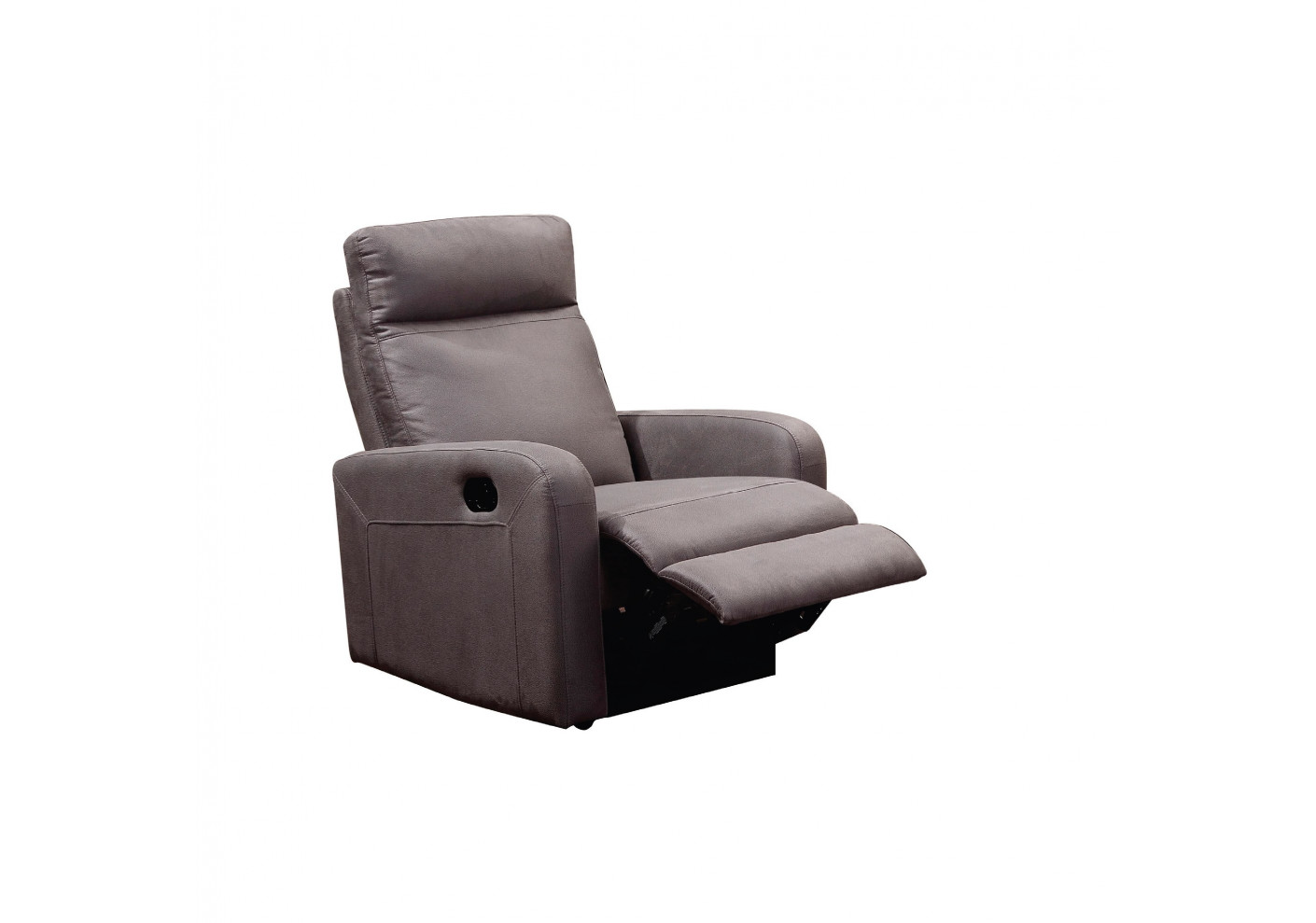 Fauteuil Relax 1 Place Fauteuil Relax Bergame Tissu Gris