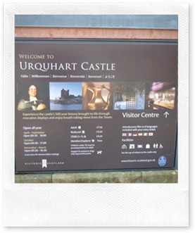 Urqhuart Castle visitor centre