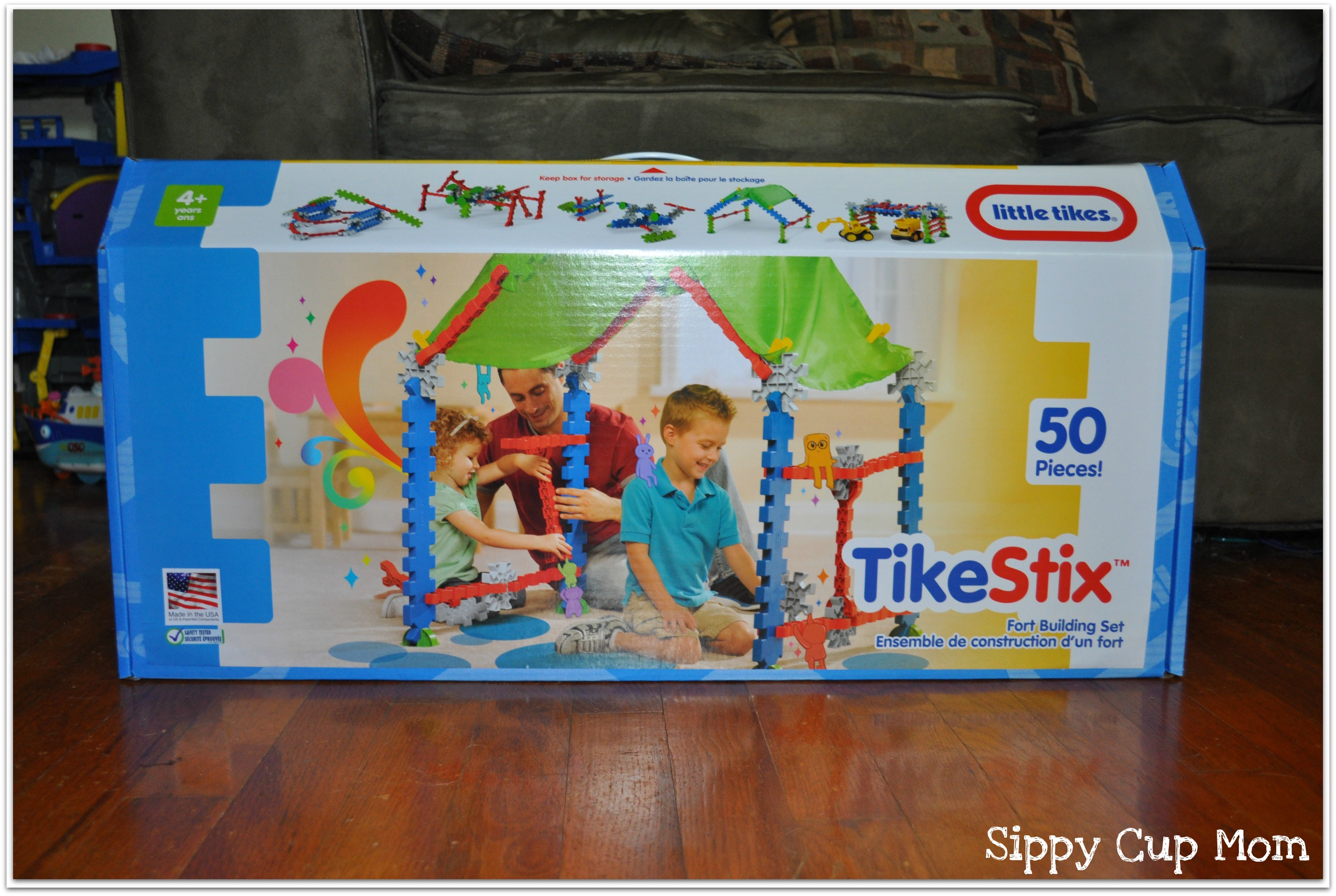 Tike Securite Notice Little Tikes Tikestix Clubhouse Review Giveaway Sippy Cup Mom