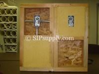 Polyurethane Panels with conduit - SIP Supply