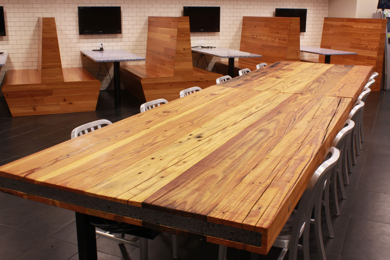 Heart Pine Countertops Rustic Heart Pine Table Top Sir Belly