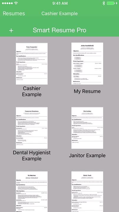 Smart Resume Pro Resume and CV Designer by Qrayon, LLC