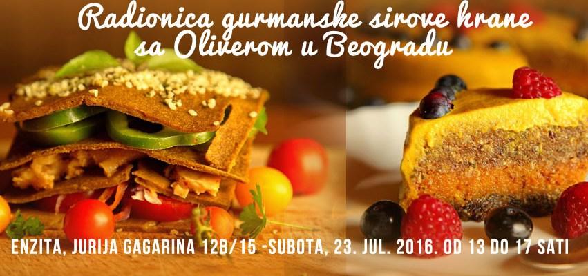 Radionica u Beogradu, 23. jul. 2016. od 13 do 17 sati