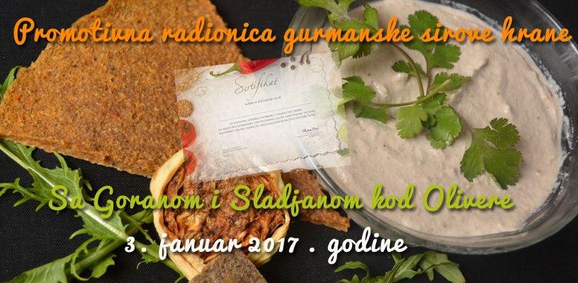 Promotivna Novogodišnja radionica - 3 januar 2017. od 12 do 18 sati