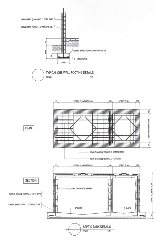 PL 02 septic tank plan  plumbing details - SUNNY B OJEDA, RMP