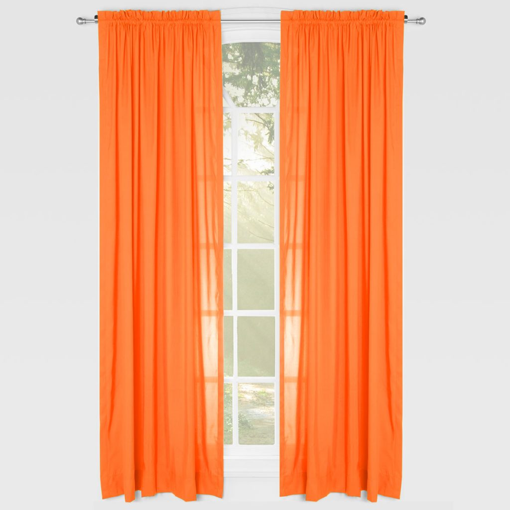 Orange Curtain Panels Curtain Panels Archives Siscovers