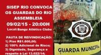 Pauta de Reivindicação dos Guardas Municipais do Rio de Janeiro.  *)Por motivos alheios a nossa vontade o SISEP RIO informa que necessário foi alterar o local da assembleia, que […]