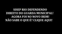 O Diretor Jurídico do SISEP RIO, Frederico Sanches, acaba de protocolar junto ao TJ/RJ requerimento com pedido de amicus curiae(amigo da corte) nos autos do IRDR(INCIDENTE DE RESOLUÇÃO DE DEMANDAS […]