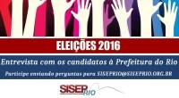 O SISEP RIO vai realizar uma série de encontros com os candidatos à Prefeitura do Rio. Não será um debate entre os concorrentes, mas sim entrevista com cada um dos […]