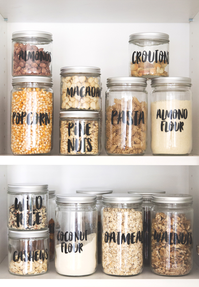 How to Make Labels for Your Pantry \u2013 SISOO