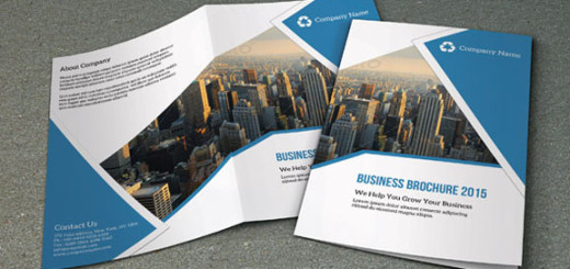 Bifold corporate brochure template - SiStec