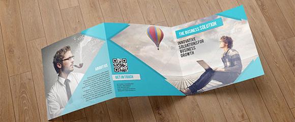 Trifold Business brochure - SiStec - tri fold business brochure