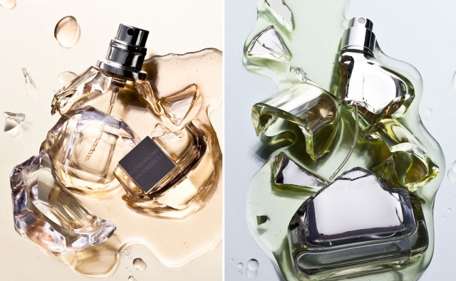 Perfume smash styled by Brittany Winter