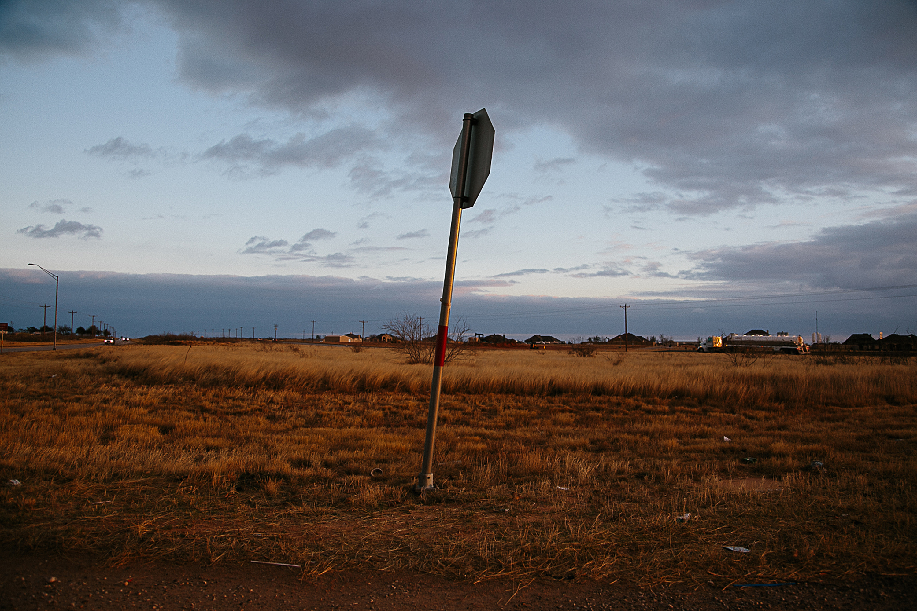 Lone Stop Sign